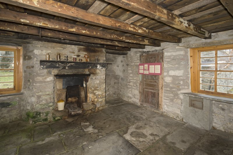 Ground floor. Refectory / kitchen from north east.