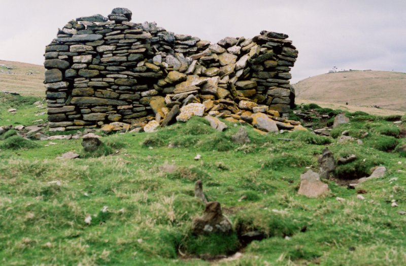 St Ronan's Church, west gable, 2006.