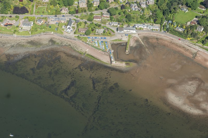 Oblique aerial view of Fortrose, looking NW.