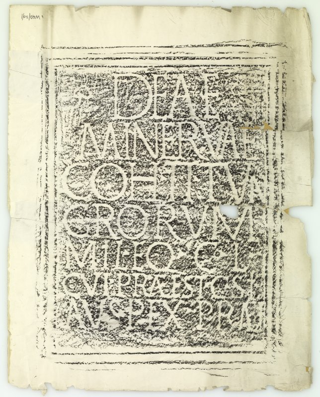 Roman Latin votive inscription from Birrens.