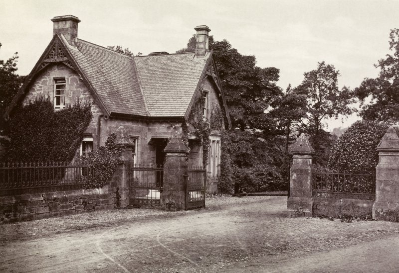View of lodge at Kilmahew Estate.