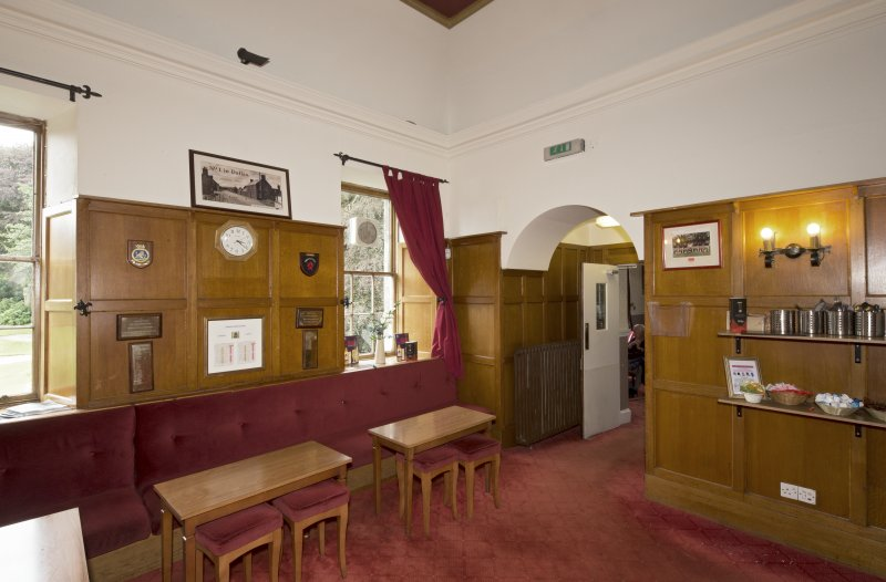 1st floor. Members' bar from north east.