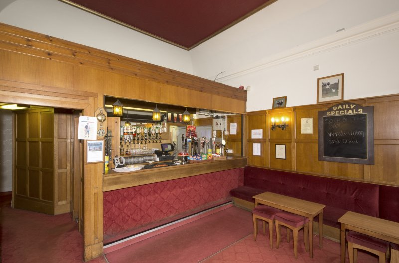 1st floor. Members' bar from south west.