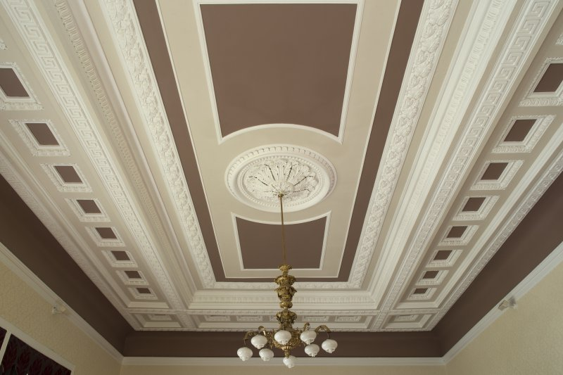 1st floor. Members' lounge ceiling.