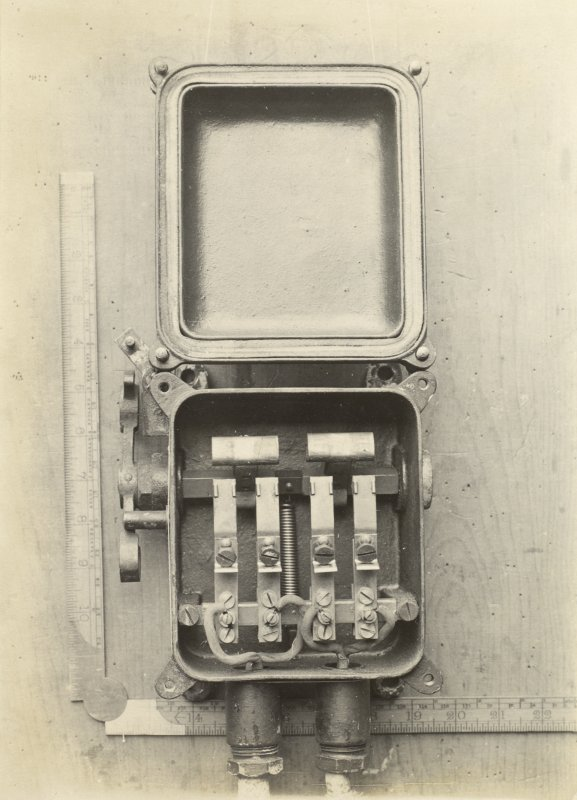German battleship SMS Baden. Door Switch.