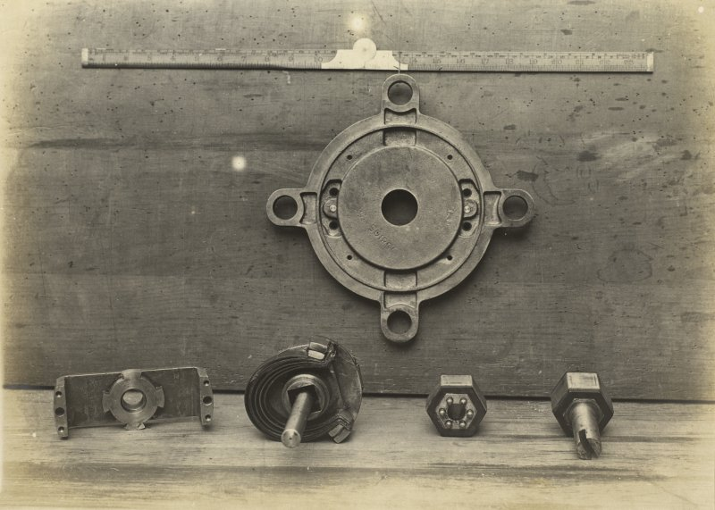German battleship SMS Baden. 500 Amps: Change over switch for turrets.