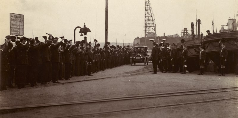 King George V's visit to Invergordon