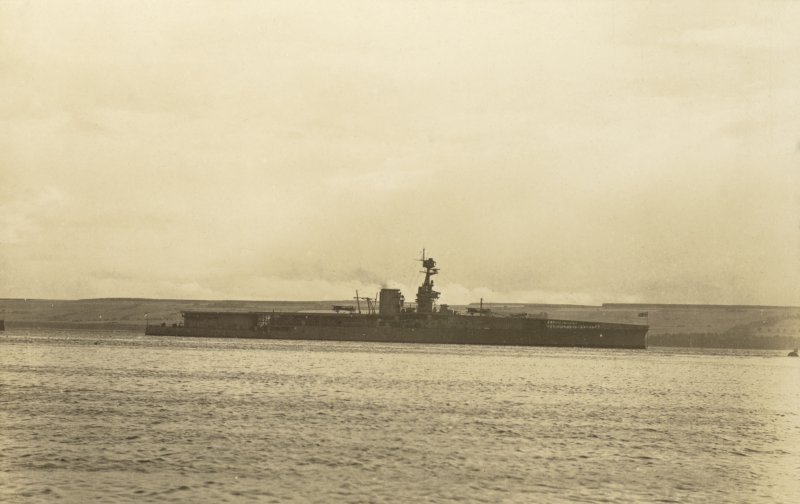 British battlecruiser HMS Furious