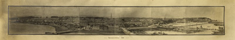 Panorama of Invergordon.