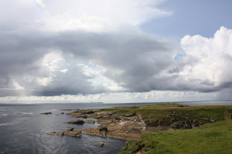 General view towards the Tarf on the SE coast of Swona.
