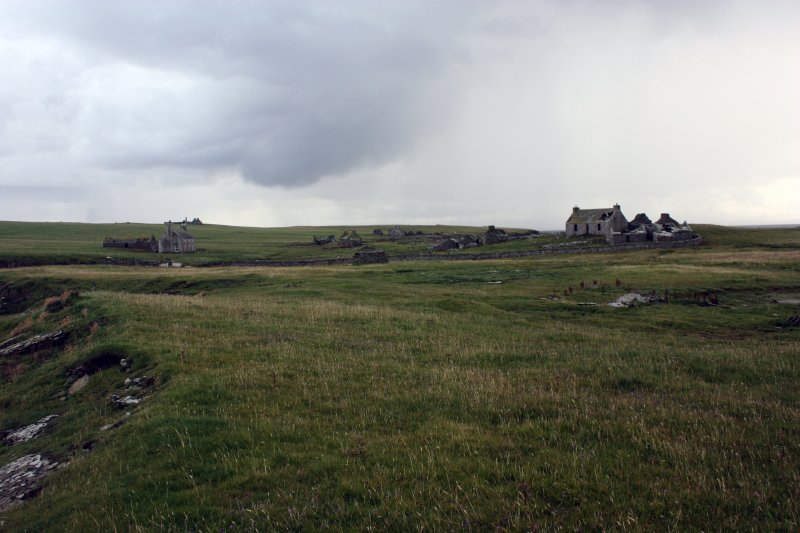 General view of the main area of settlement, looking S.