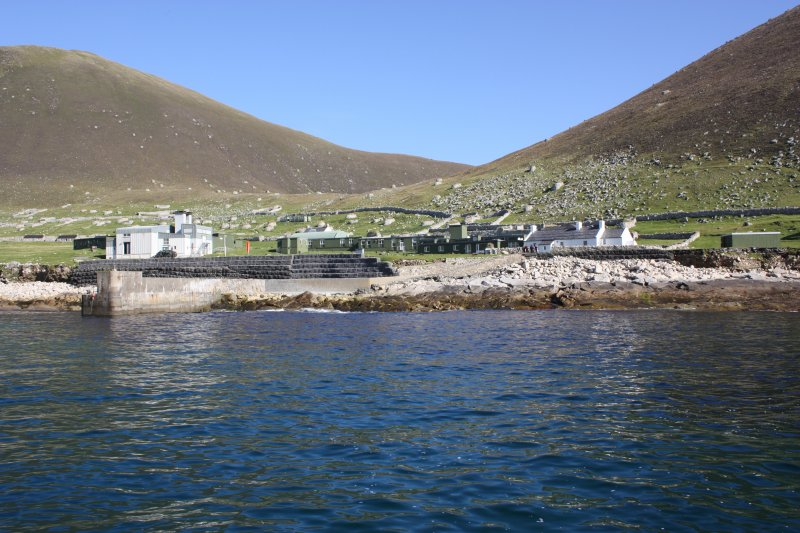 General view of the military base, St Kilda.