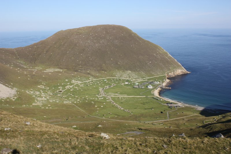 General view of Village Bay, St Kilda, looking E.