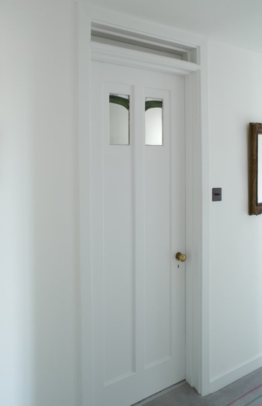 1st floor, corridor, view of door to bedroom 3 on plan