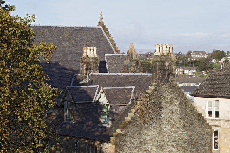 view of the roofline, taken from south west