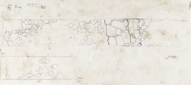 Drawing no 8. Plan of Trench I