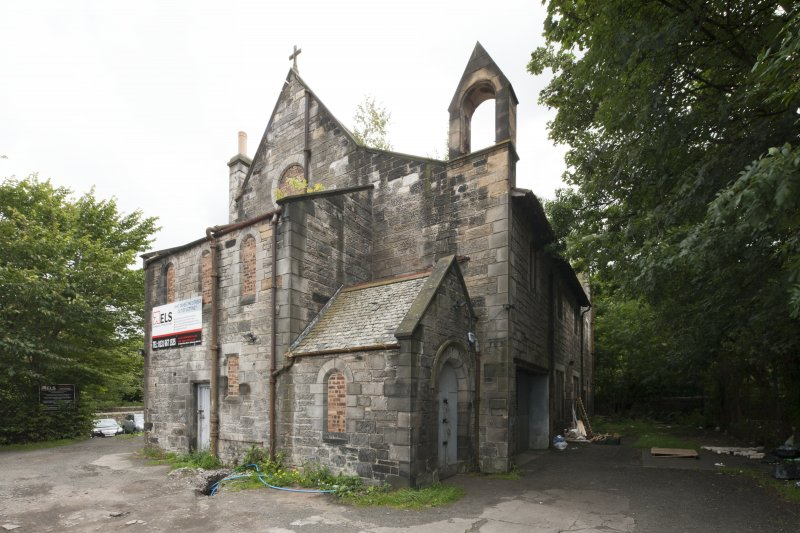 General view of St Kentigern's Church, St Peter's Place, Edinburgh, taken from the north-west.