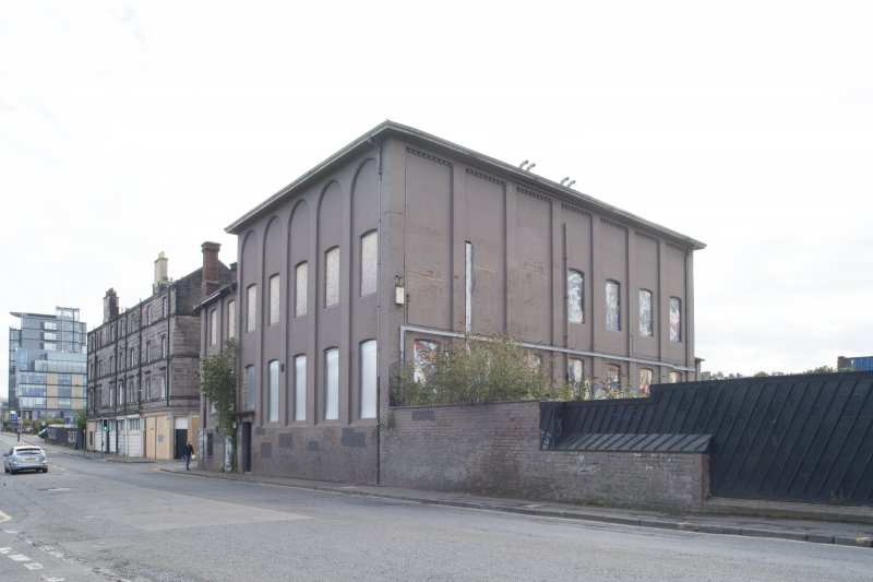 General view of the former North British Rubber Company, Gilmore Park, Edinburgh, from the west