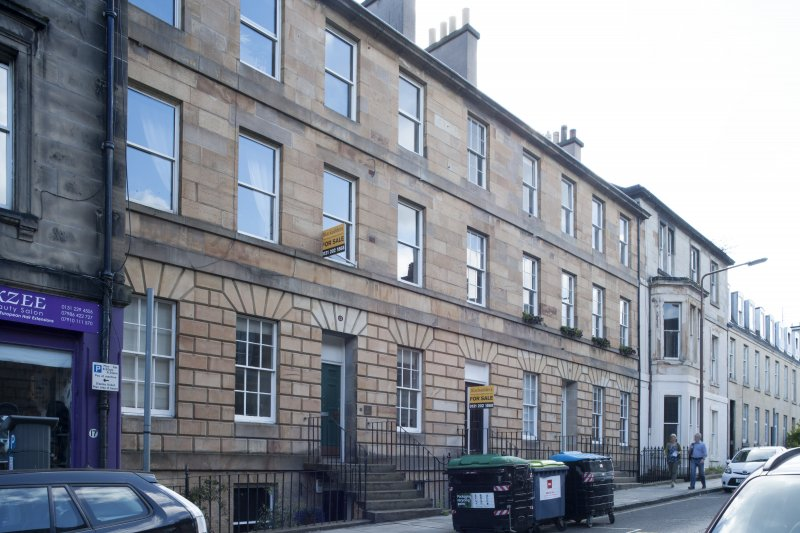 General view of 19-25 Grove Street, Edinburgh, taken from the north.
