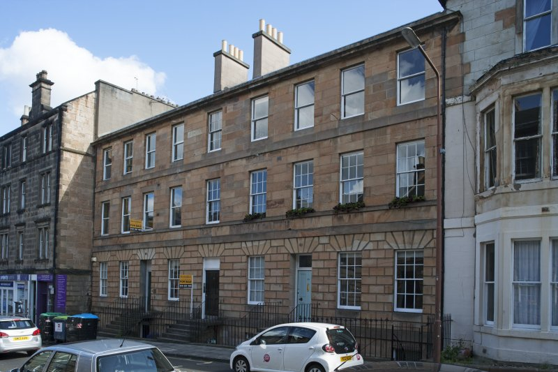 General view of 19-25 Grove Street, Edinburgh, taken from the south.