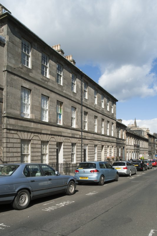 General view of 2-18 Grove Street, Edinburgh, taken from the south.