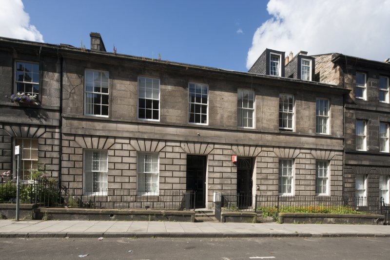 General view of 6-10 Grove Street, Edinburgh, taken from the east.