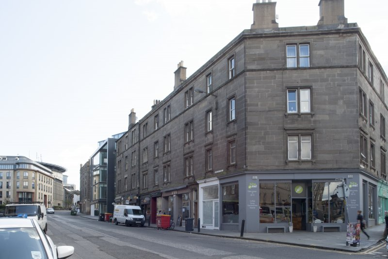 General view of Morrison Street, Edinburgh, taken from the south-west.