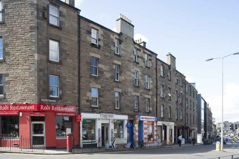 General view of Morrison Street, Edinburgh, taken from the north-east.
