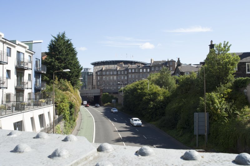 General view of Gardner's Crescent, Edinburgh, taken from the north-west.