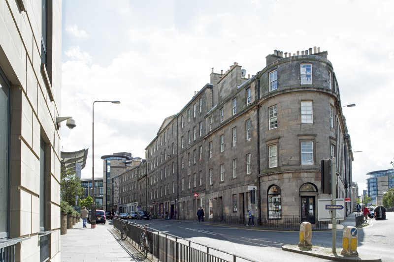 General view of 79-115 Morrison Street, Edinburgh, taken from the north-west.