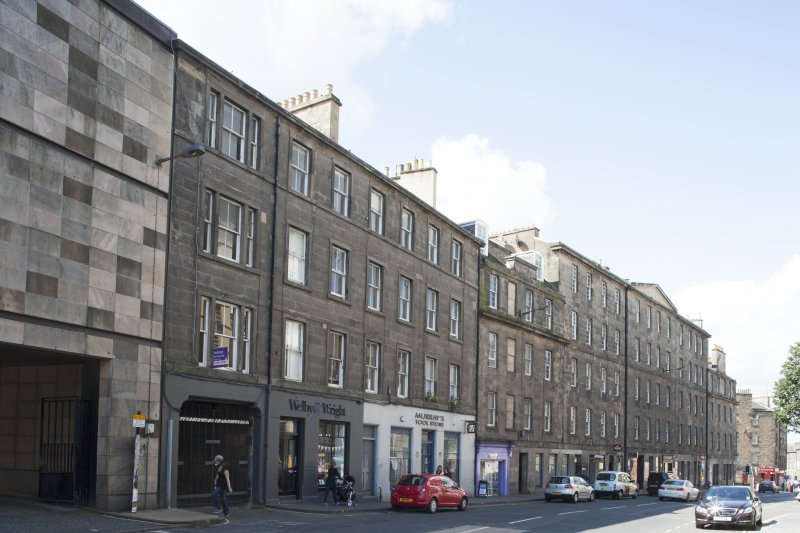 General view of 75-115 Morrison Street, Edinburgh, taken from the east.