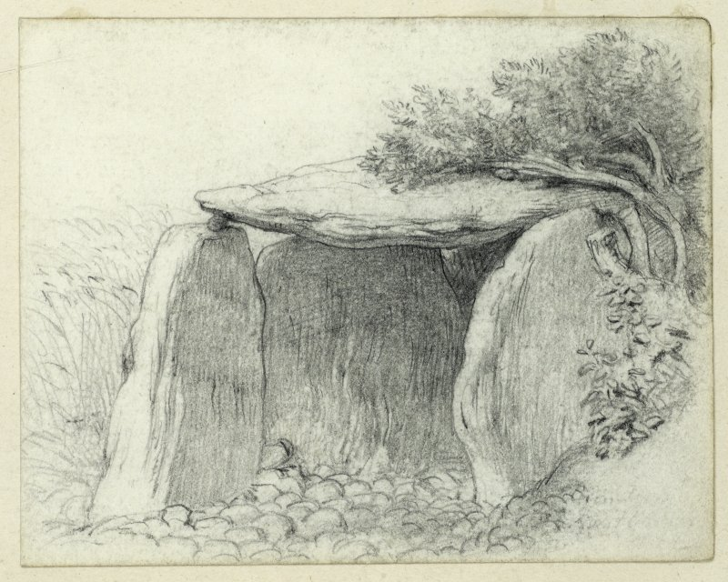 Drawing of Haco's Tomb, Haylie.