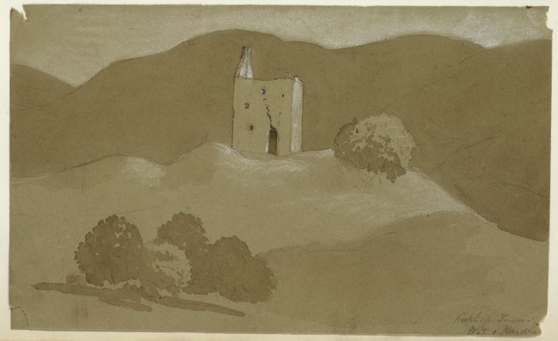 Drawing showing general view of Kirkhope Tower