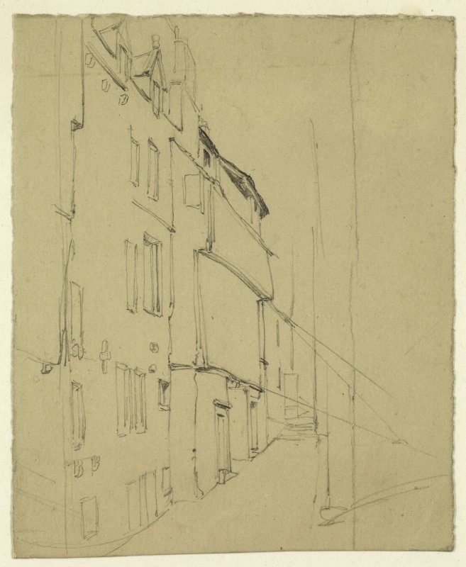 Drawing of Craig's Close.