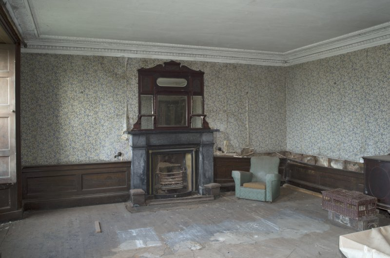 Ground floor, dining room, view from south west