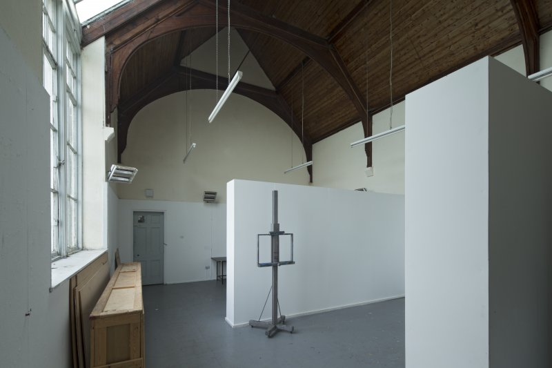 Central studio, ground floor, view from north west