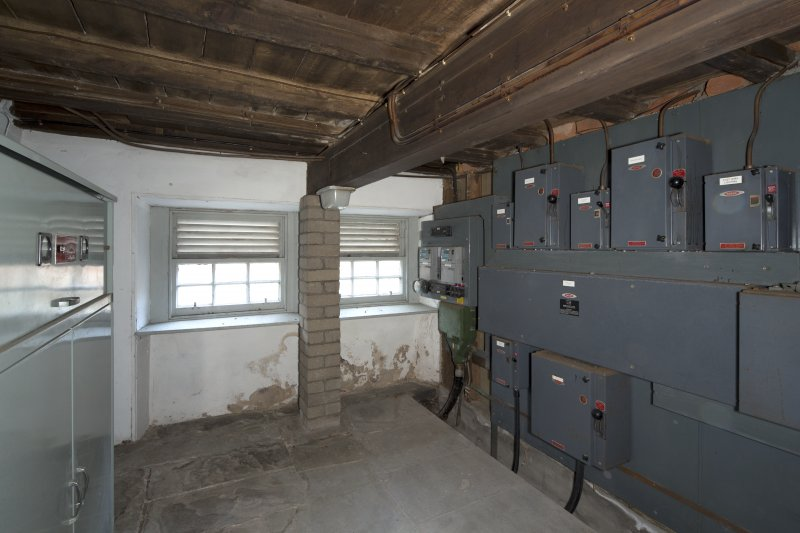 Ground floor, electrical switch room, view from south west