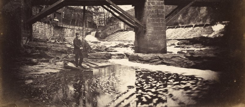 Page 11/2 View of Roslin Mills, Bridge at Kirkettle. PHOTOGRAPH ALBUM No 53: THE MERRICK ALBUM