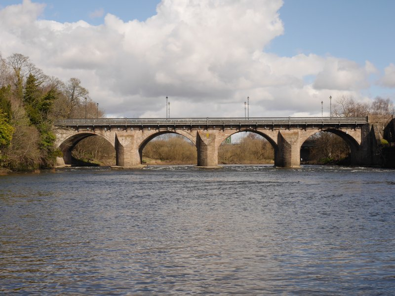 View of Bridge from west.