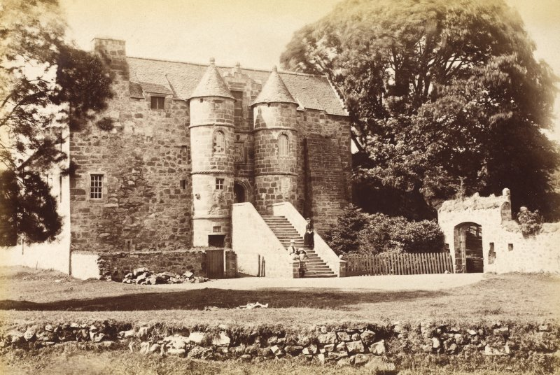 View of Rowallan Castle