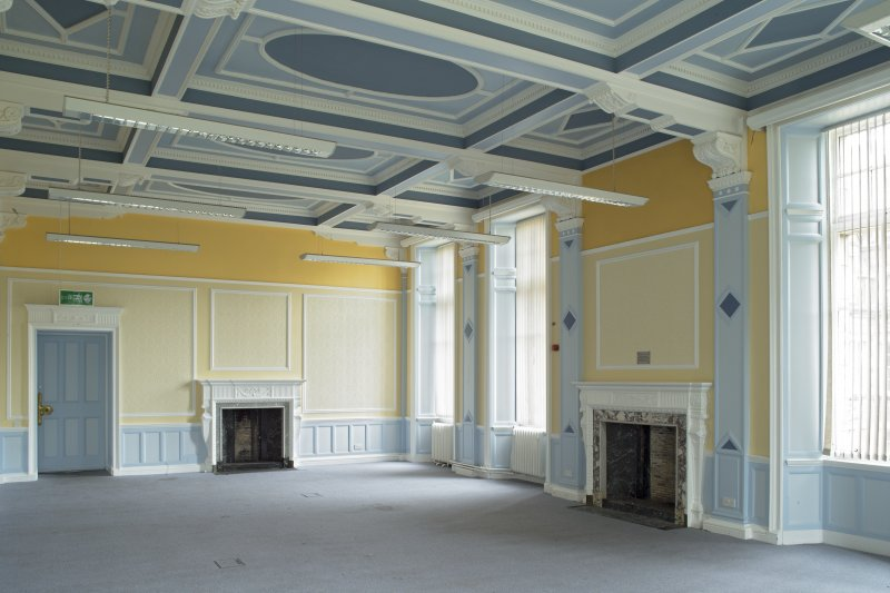 Level 3, south wing, drawing room, view from south west