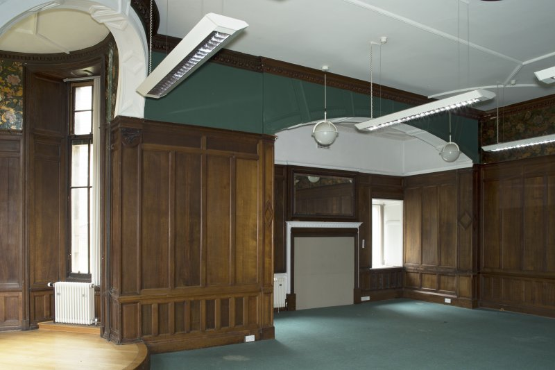 Level 3, south wing, billiard room, view from south east