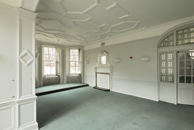 Level 2, east wing, south west corner room, view from south east