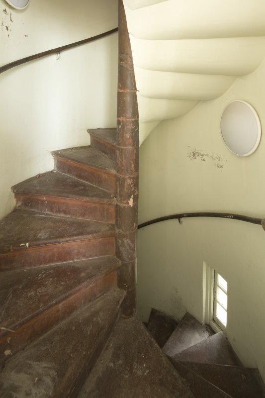 Level 10, tower, prospect room, spiral stair, view from south east
