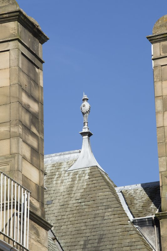 Queen's Craig. Detail of finial.