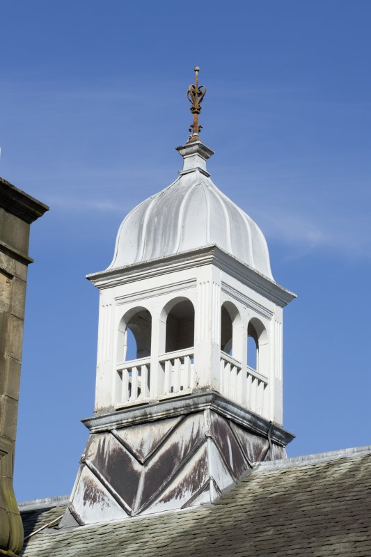 Queen's Craig. Detail of cupola.