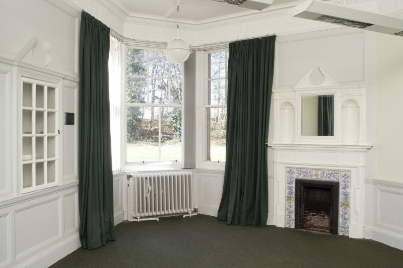 Queen's Craig. Ground Floor. Room 1. General view from South East.