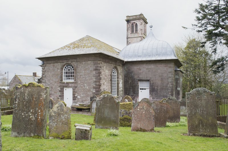 Durisdeer Parish Church. General view from North East.