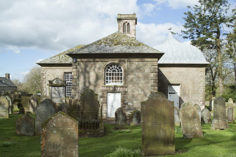 Durisdeer Parish Church. General view from East.