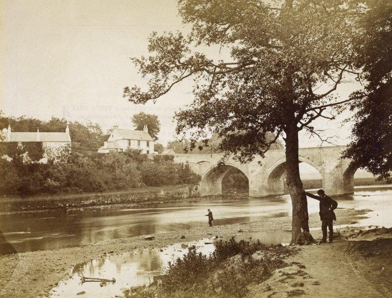 View of Bothwell Bridge, Bothwell.
